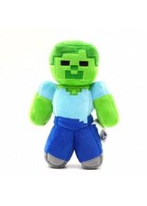 Зомби 24 см мягкая игрушка из Майнкрафт