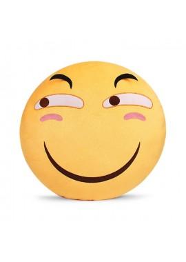 Огромная подушка-смайлик Emogi ХИТРЫЙ 48 см