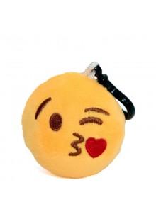 Брелок-смайлик Emoji ЦЕЛУЮ 5 см