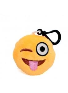Брелок-смайлик Emoji ПОКАЗЫВАЮ ЯЗЫК 5 см