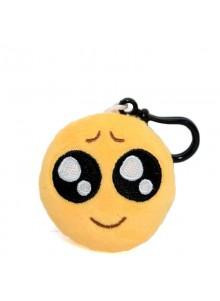 Брелок-смайлик Emoji УМИЛЯЮСЬ 5 см