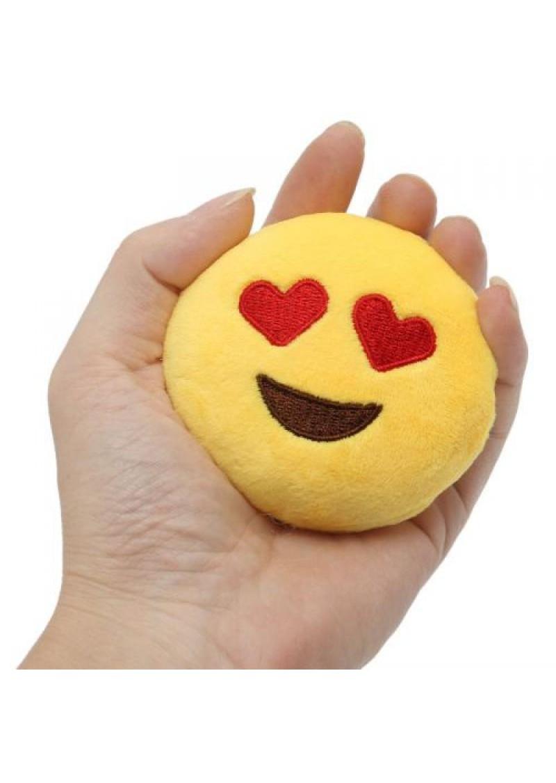 Брелок-смайлик Emoji ЛЮБЛЮ 10 см