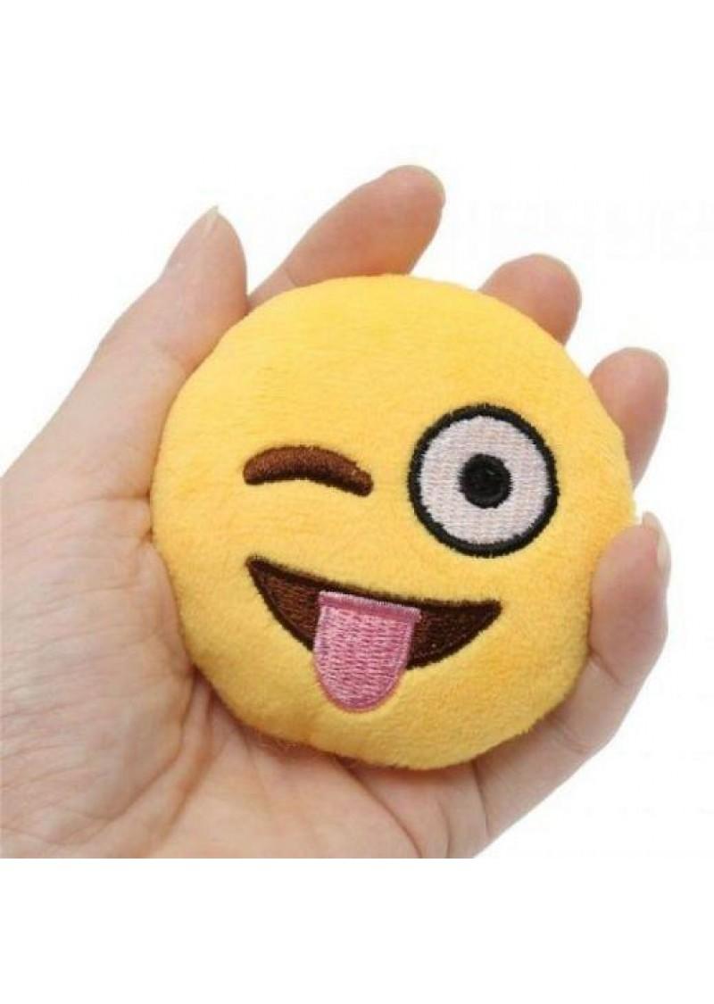 Брелок-смайлик Emoji ДРАЗНИЛКА 10 см