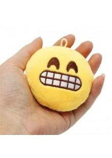 Брелок-смайлик Emoji ГРИМАСА 10 см