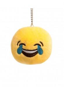 Брелок-смайлик Emoji СМЕХ ДО СЛЕЗ 10 см