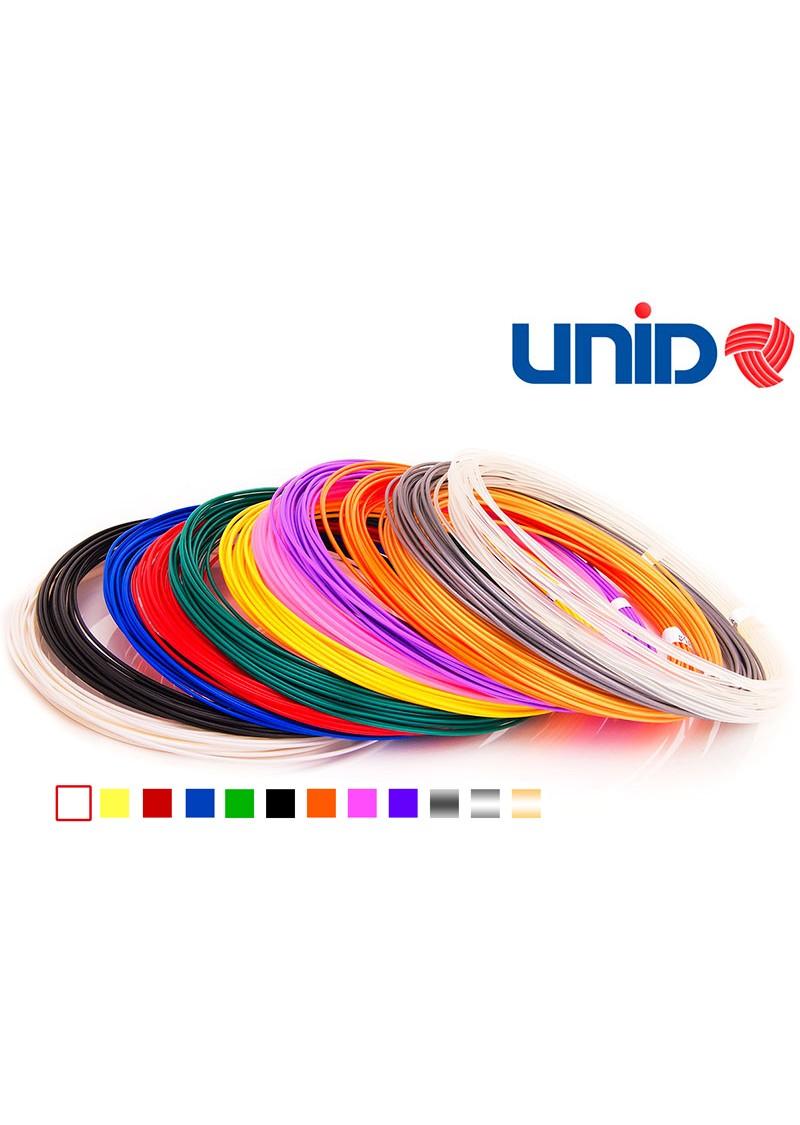 Набор PLA пластика для 3D ручек 12 цв. по 10 м.