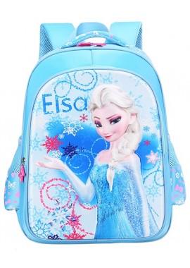 Рюкзак Эльза 40 см голубой