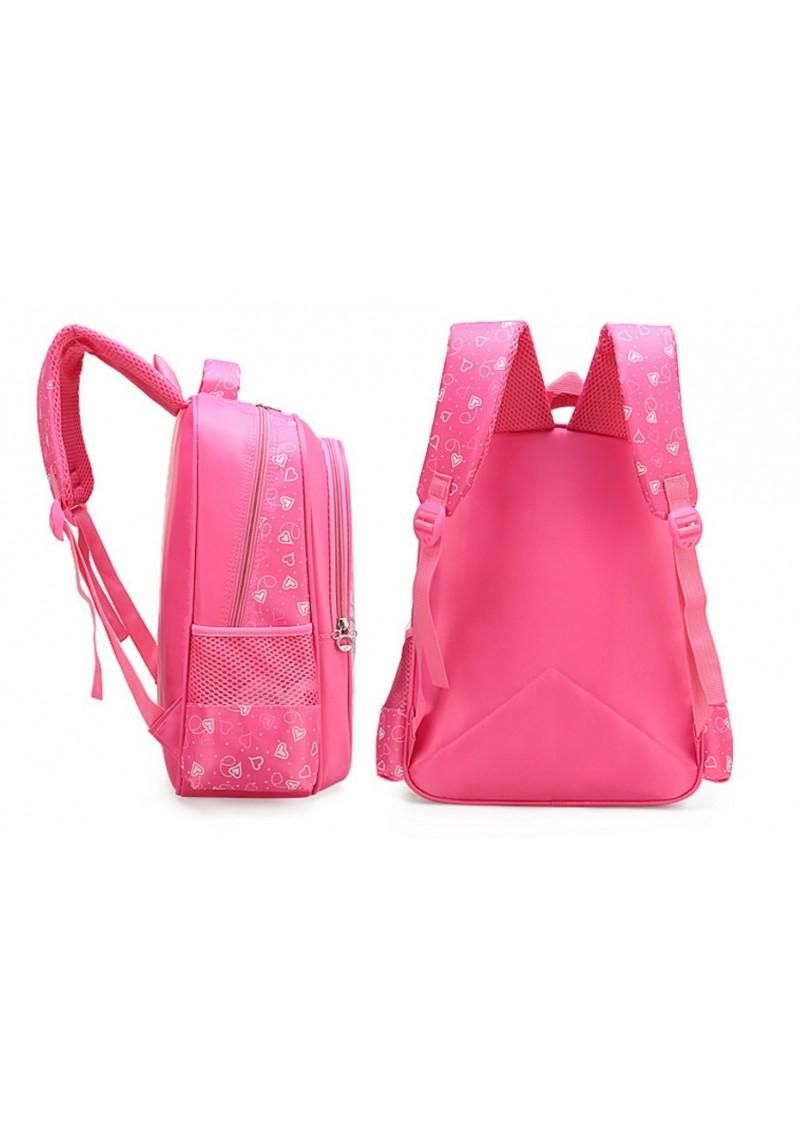 Рюкзак Эльза 40 см розовый
