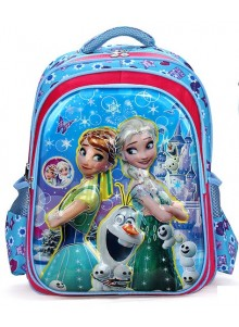 Рюкзак Холодное Сердце 40 см синий
