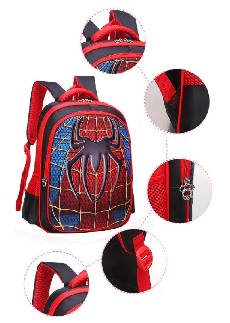 Рюкзак Спайдермен школьный 3D 46 см