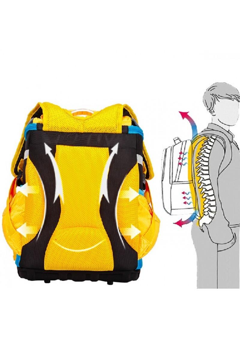 Ранец школьный 1-4 класс Трансформеры Прайм Бамблби (желтый)