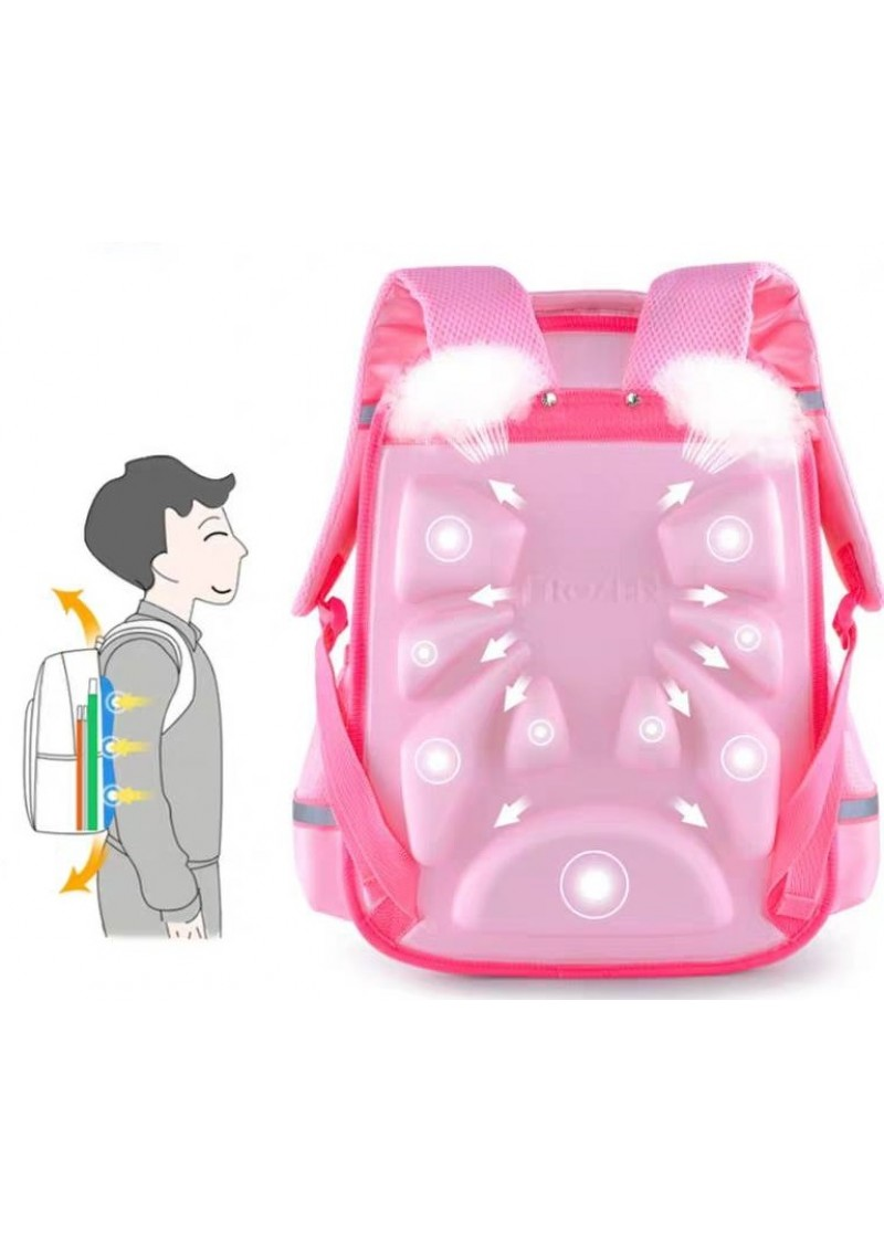 Рюкзак школьный Холодное сердце Эльза (розовый)