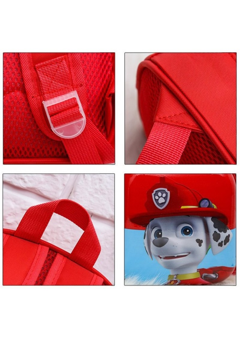 Рюкзак детский Щенячий патруль Маршал 28 см овальный