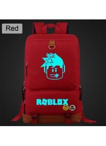 Рюкзак Roblox светящийся Красный