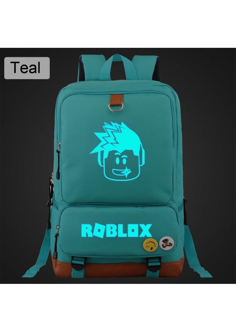 Рюкзак Roblox светящийся Сине-зеленый