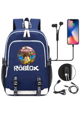 Рюкзак Roblox с USB и разъемом для наушников