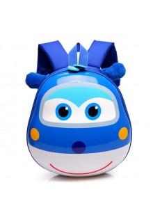 Рюкзак детский Супер Крылья 28 см синий