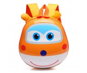 Рюкзак детский Супер Крылья 28 см оранжевый