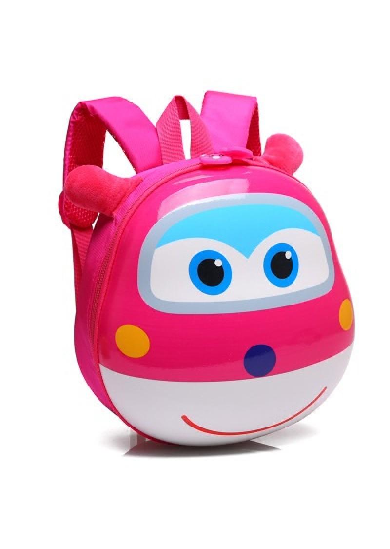 Рюкзак детский Супер Крылья 28 см розовый