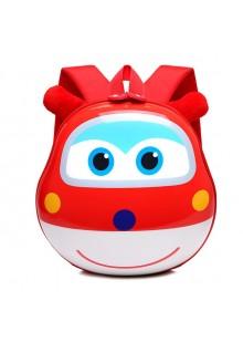 Рюкзак детский Супер Крылья 28 см красный