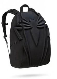 Рюкзак городской 3D Паук черный