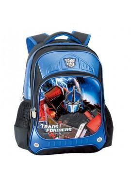 Рюкзак школьный Трансформеры Прайм Оптимус Прайм 42 см (синий) B0007A
