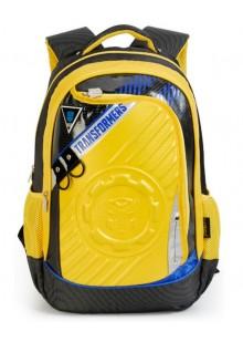 Рюкзак школьный Трансформеры 46 см (желтый) B0056B