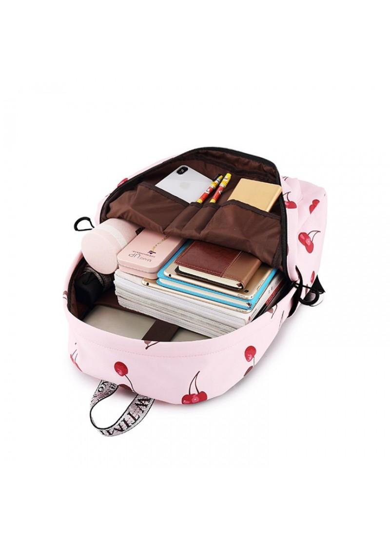 Городской рюкзак женский Winner Вишня 35 см