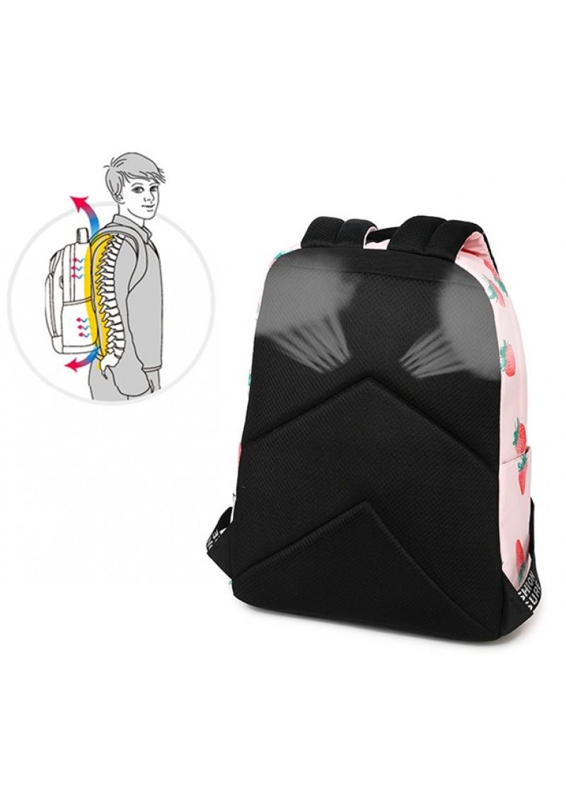 Городской рюкзак женский Winner Клубника 40 см