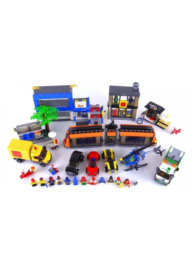 "Конструктор Сити ""Городская площадь"" Lepin 02038 аналог Лего 60097"