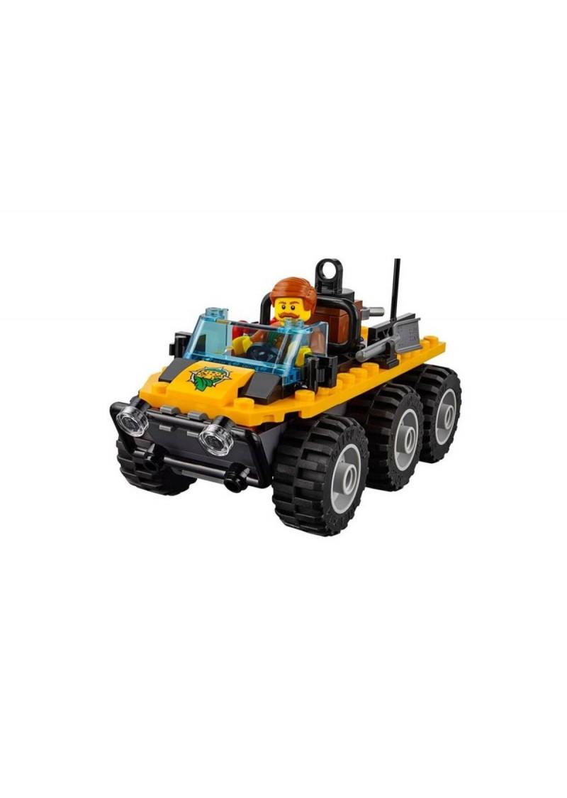 "Конструктор Сити ""База исследователей джунглей"" Lepin 02061 аналог Лего 60161"
