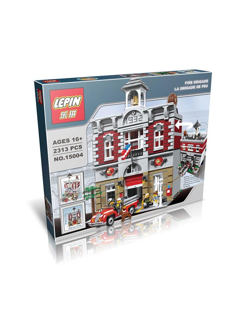 "Конструктор Креатор ""Пожарная Станция"" Lepin 15004 аналог Лего 10197"