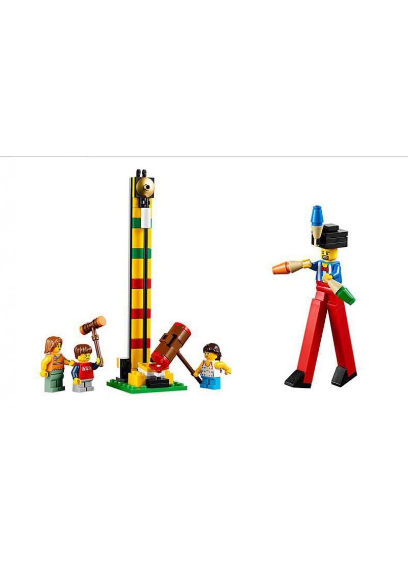 """Конструктор Креатор """"Передвижной парк аттракционов - Ярмарка"""" Lepin 15014 аналог Лего 10244"""
