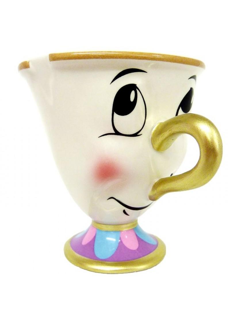 "Чашка Чип из ""Красавица и Чудовище"""