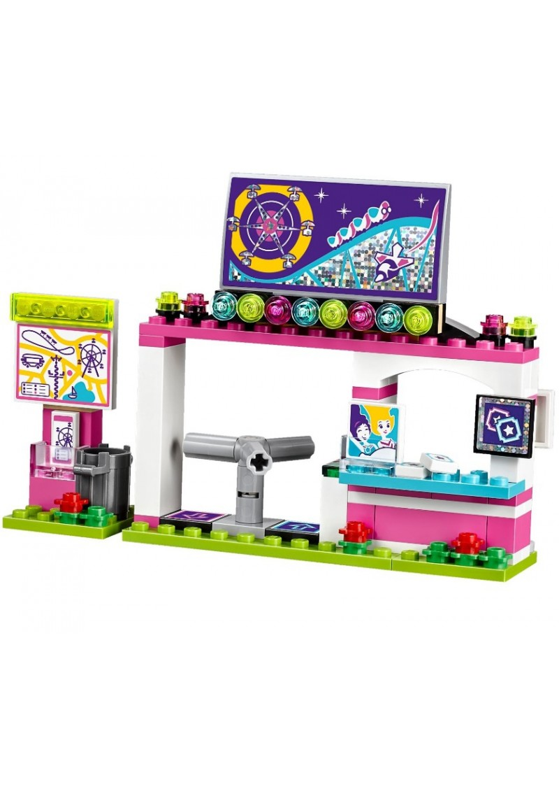 """Конструктор Friends """"Парк развлечений: Американские горки"""" Bela 10563 аналог Лего 41130"""