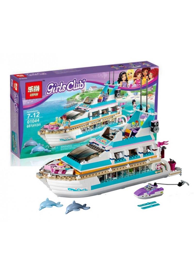 "Конструктор Friends ""Круизный лайнер"" Lepin 01044 аналог Лего 41015"