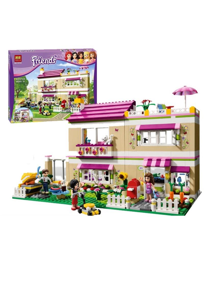 "Конструктор Friends ""Дом Оливии"" Bela 10164 аналог Лего 3315"