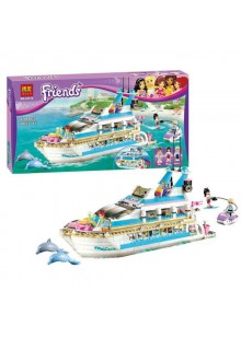 "Конструктор Friends ""Круизный лайнер"" Bela/Lepin 10172/01044 аналог Лего 41015"