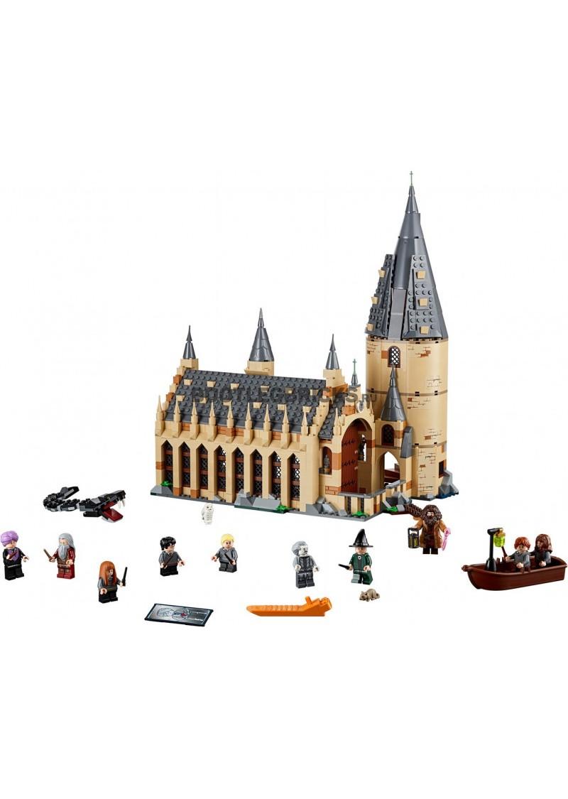 """Конструктор Гарри Поттер """"Большой зал Хогвартса"""" Lepin 16052 аналог Лего 75954"""