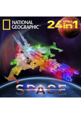 Космос конструктор 24 в 1 Серия National Geographic NG400