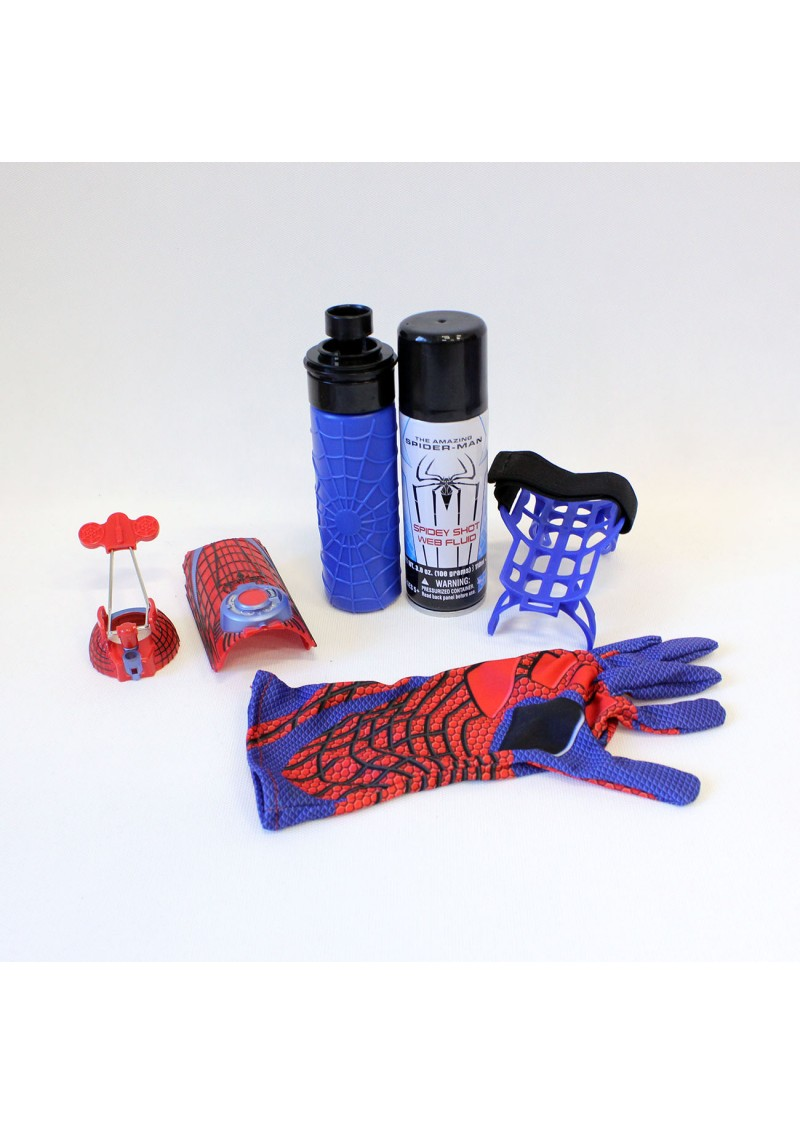 Перчатка Человека Паука с паутиной