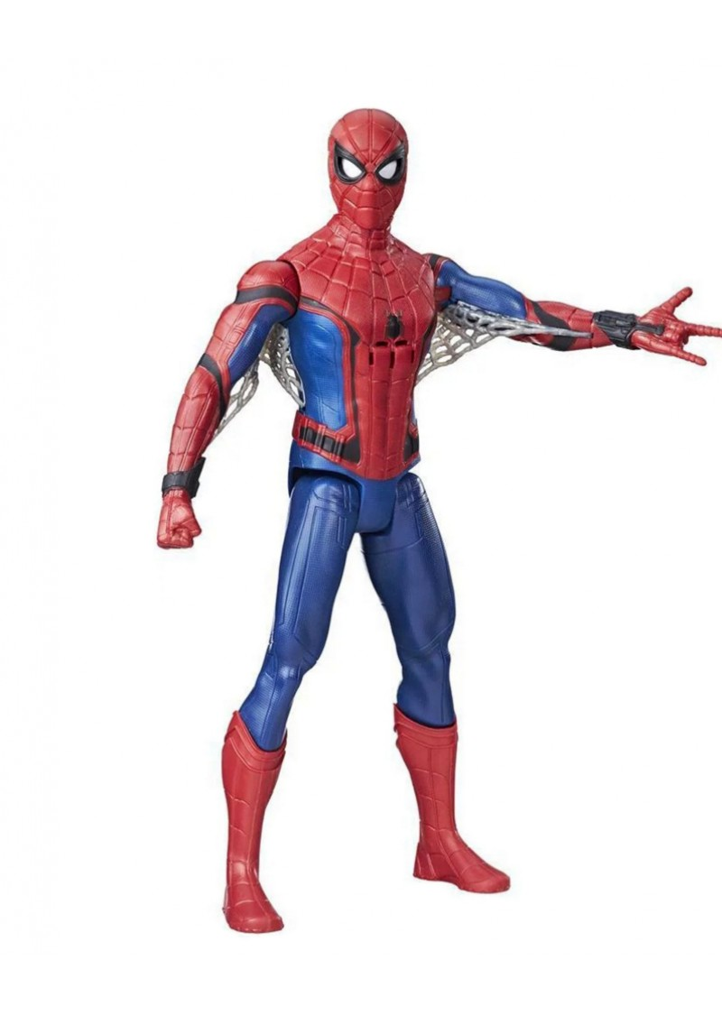 Человек-паук фигурка электронная 30 см Spider-man Hasbro B9693