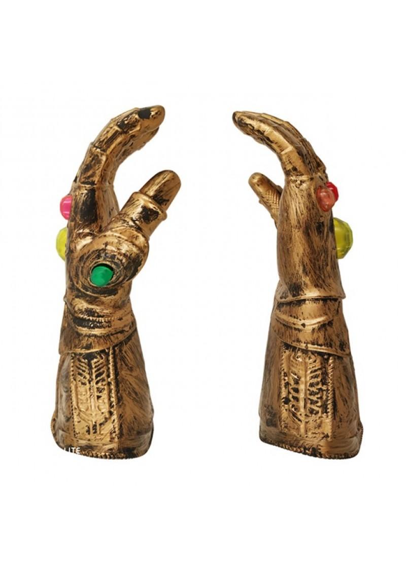 Перчатка Бесконечности Таноса со светом и звуком (детский размер)