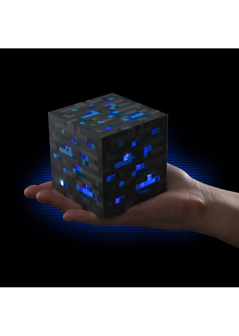 Лампа Алмазная руда Майнкрафт Minecraft Light Up Diamond Ore