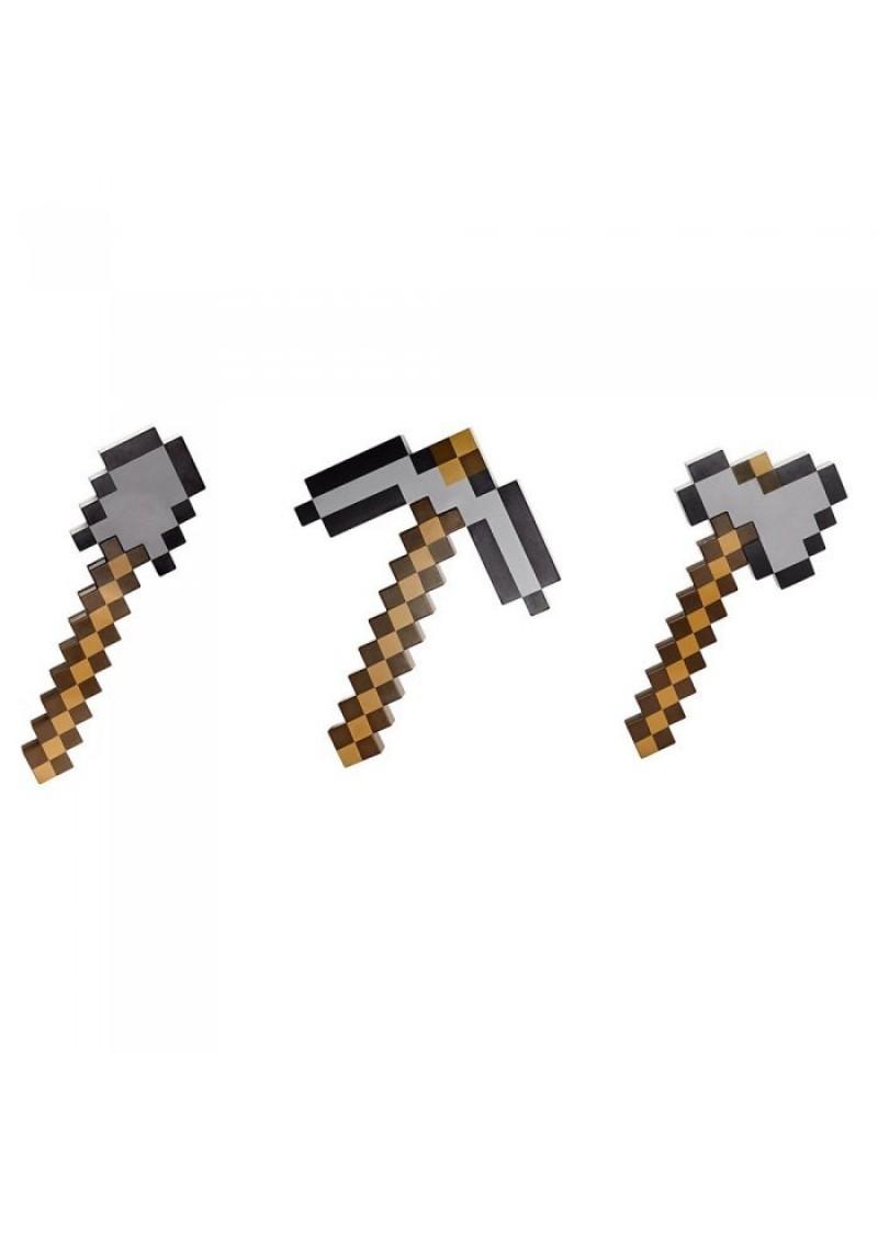 Железная кирка-топор-лопата (трансформер 3 в 1)