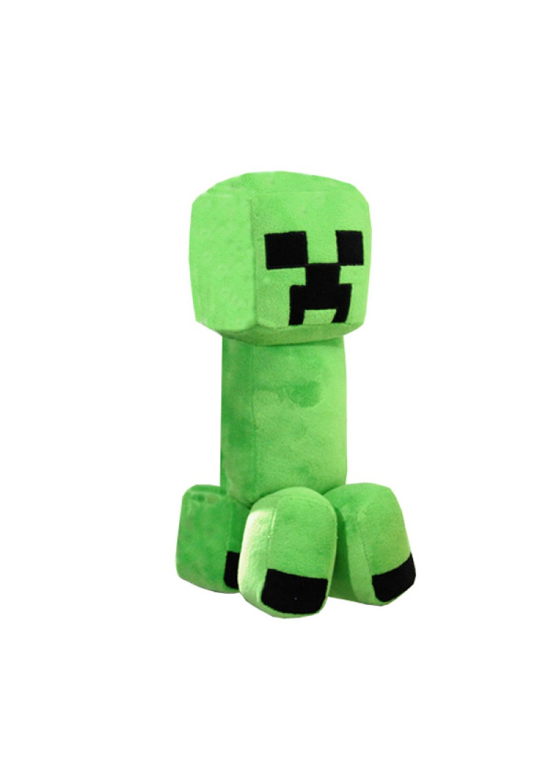 Крипер 28 см мягкая игрушка из Майнкрафт (Minecraft Creeper) средний
