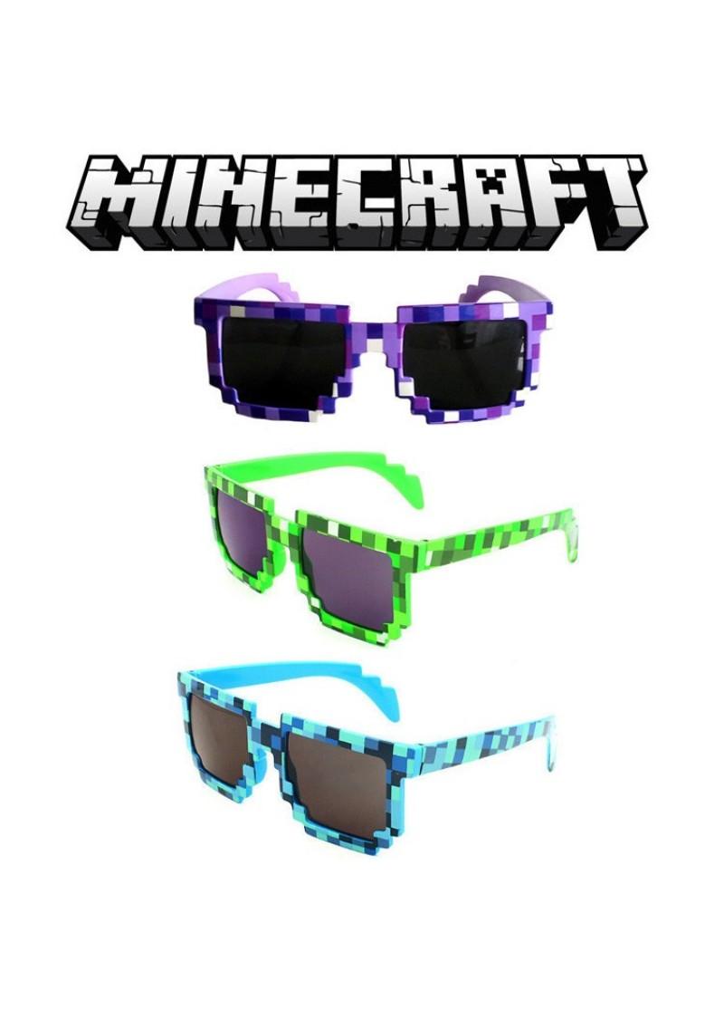 Очки пиксельные Майнкрафт в асс.