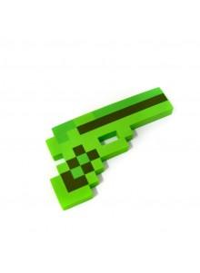 Зеленый пиксельный пистолет