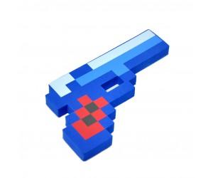 Алмазный пиксельный пистолет (синий)