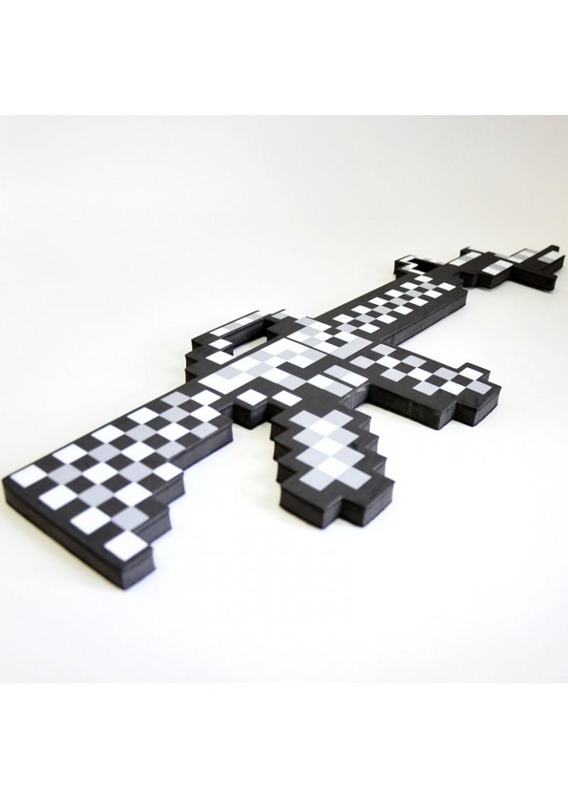 Пиксельный железный автомат